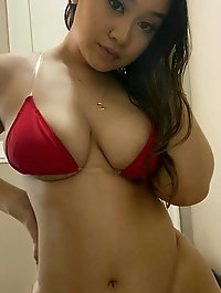 Big breasted oriental MILFs seem exposed